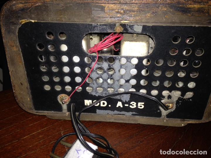 Radios de válvulas: Radio de valvulas española - Foto 4 - 105298600