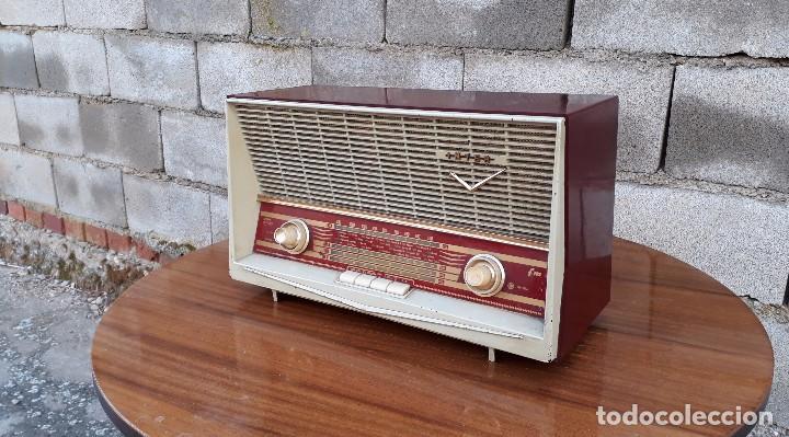 RADIO ANTIGUA DE VÁLVULAS MARCA INTER MODELO HAITÍ M.A. RADIO DE 1959 INTER MODELO HAITÍ. RAREZA (Radios, Gramófonos, Grabadoras y Otros - Radios de Válvulas)