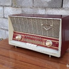 Radios de válvulas: RADIO ANTIGUA DE VÁLVULAS MARCA INTER MODELO HAITÍ M.A. RADIO DE 1959 INTER MODELO HAITÍ. RAREZA. Lote 173630018
