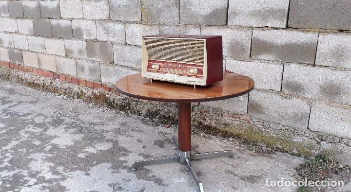 Radios de válvulas: Radio antigua de válvulas marca inter modelo haití M.A. radio de 1959 INTER modelo haití. RAREZA - Foto 6 - 173630018