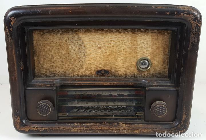 RADIO DE VÁLVULAS. MODELO WIKING. ALEMANIA. CIRCA 1930. (Radios, Gramófonos, Grabadoras y Otros - Radios de Válvulas)