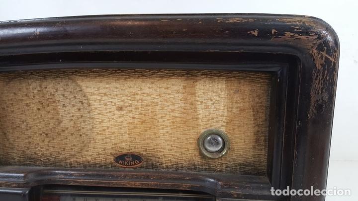 Radios de válvulas: RADIO DE VÁLVULAS. MODELO WIKING. ALEMANIA. CIRCA 1930. - Foto 3 - 105877943
