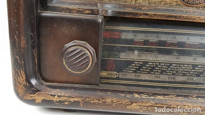 Radios de válvulas: RADIO DE VÁLVULAS. MODELO WIKING. ALEMANIA. CIRCA 1930. - Foto 5 - 105877943