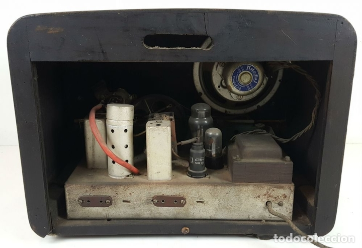 Radios de válvulas: RADIO DE VÁLVULAS. MODELO WIKING. ALEMANIA. CIRCA 1930. - Foto 7 - 105877943