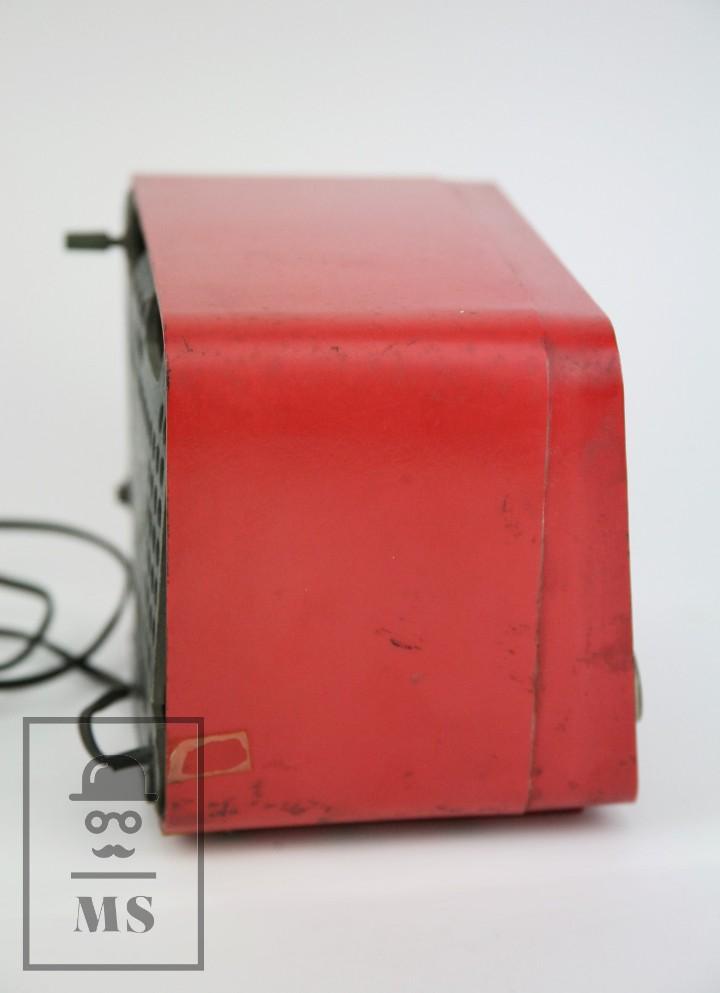 Radios de válvulas: Antigua Radio de Válvulas - Telefunken. Panchito U-1915 - Color Rojo - Años 60 - Foto 3 - 107870946
