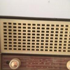 Radios de válvulas: RADIO ANTIGUA CON TRANSFORMADOR. Lote 106029543