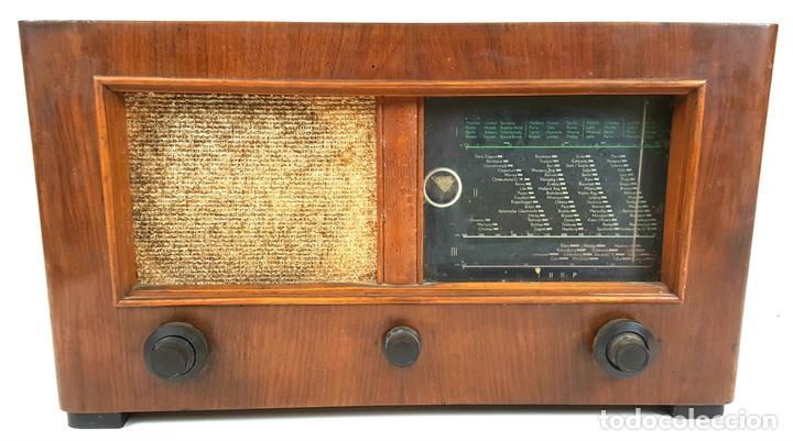 RADIO A VÁLVULAS. OLYMPIA. MODELO 423 GWK. ALEMANIA. 1939 / 1940. (Radios, Gramófonos, Grabadoras y Otros - Radios de Válvulas)