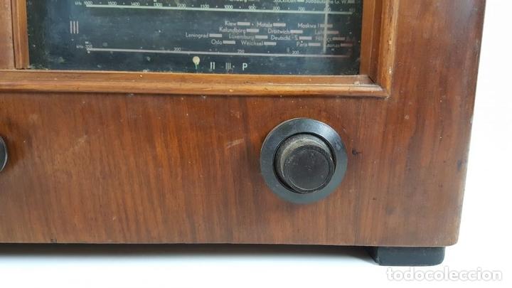 Radios de válvulas: RADIO A VÁLVULAS. OLYMPIA. MODELO 423 GWK. ALEMANIA. 1939 / 1940. - Foto 4 - 105900015