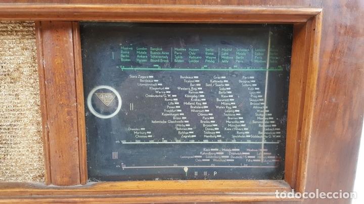 Radios de válvulas: RADIO A VÁLVULAS. OLYMPIA. MODELO 423 GWK. ALEMANIA. 1939 / 1940. - Foto 5 - 105900015