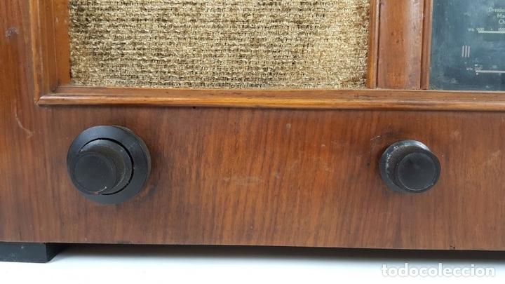 Radios de válvulas: RADIO A VÁLVULAS. OLYMPIA. MODELO 423 GWK. ALEMANIA. 1939 / 1940. - Foto 7 - 105900015