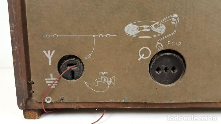 Radios de válvulas: RADIO A VÁLVULAS. OLYMPIA. MODELO 423 GWK. ALEMANIA. 1939 / 1940. - Foto 9 - 105900015
