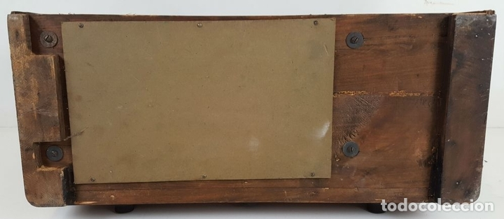 Radios de válvulas: RADIO A VÁLVULAS. OLYMPIA. MODELO 423 GWK. ALEMANIA. 1939 / 1940. - Foto 16 - 105900015