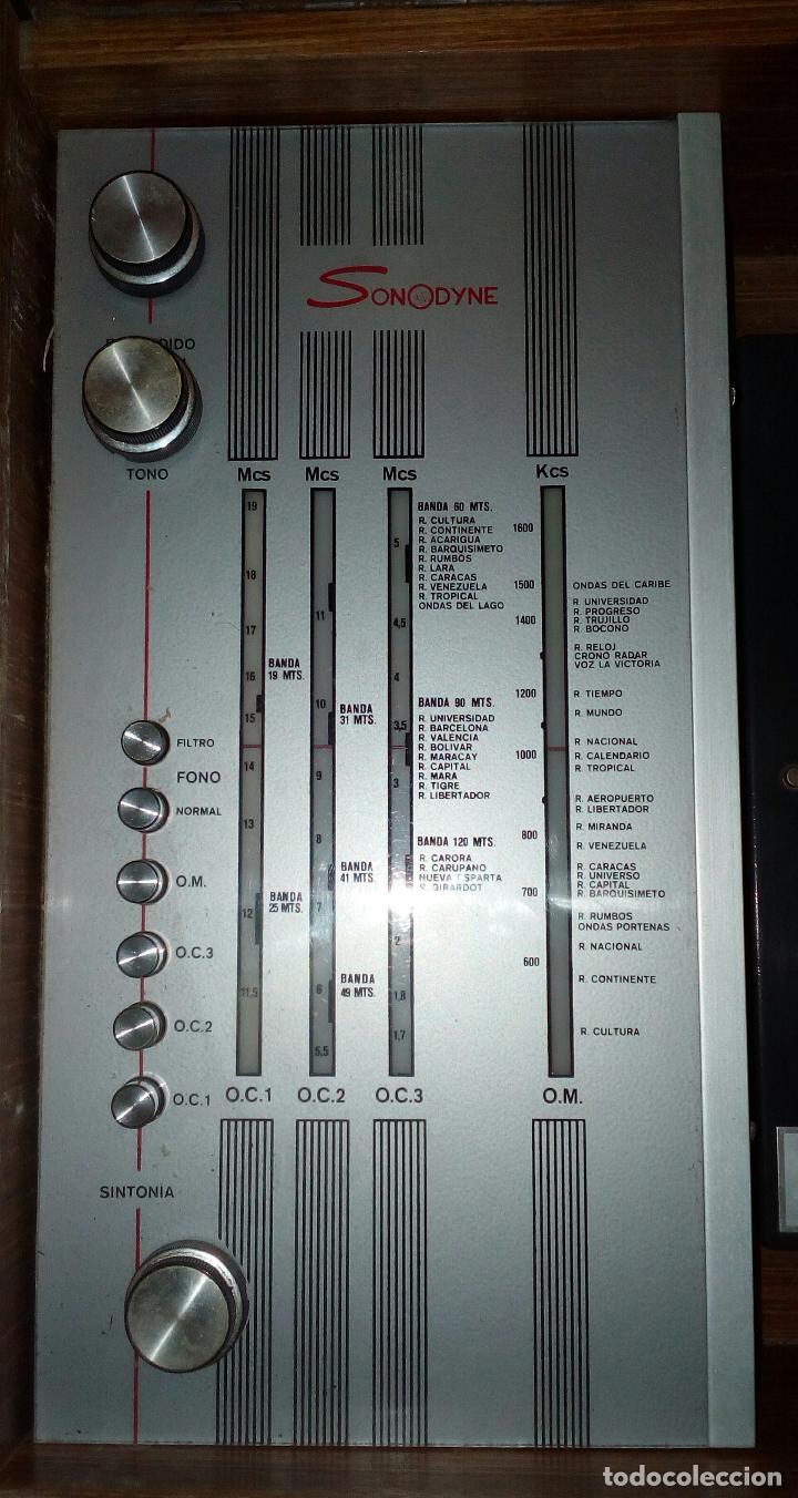 Radios de válvulas: RADIO - TOCADISCOS CON MUEBLE - SONODYNE. - Foto 7 - 107086555