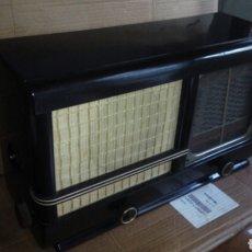 Radios de válvulas: RADIO SIERA S144A , FUNCIONANDO. Lote 107237332