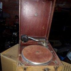 Radios de válvulas: ANTIGUA GRAMOLA DE MANIVELA SIGLO XLX. Lote 112373404