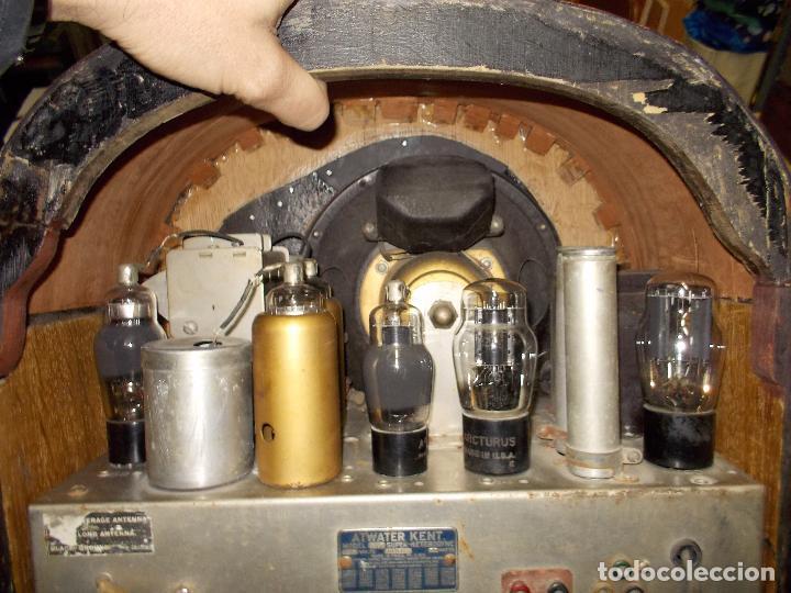 Radios de válvulas: Radio atwater kent - Foto 15 - 108804295