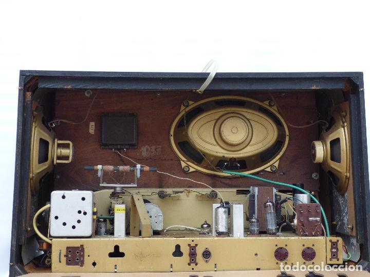 Radios de válvulas: Antigua radio de válvulas marca GRUNDIG, muy bien conservada, funcionando con buen sonido (ver vídeo - Foto 18 - 109154331