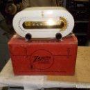 Radios de válvulas: RADIO ZENITH EN SU CAJA ORIGINAL. Lote 109281959