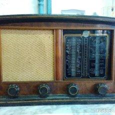 Radios de válvulas: RADIO MORELL DE MADERA. Lote 109537827