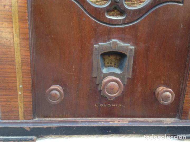 Radios de válvulas: Radio a Válvulas Colonial - años 30 - Foto 2 - 111408907