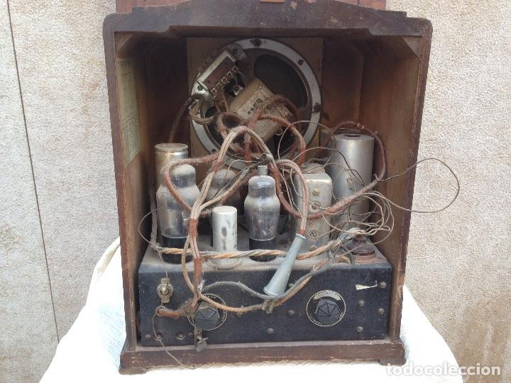 Radios de válvulas: Radio a Válvulas Colonial - años 30 - Foto 4 - 111408907