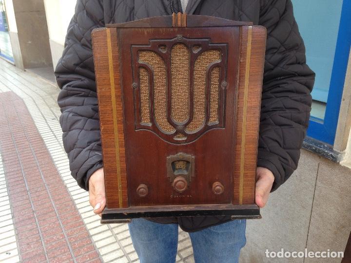 Radios de válvulas: Radio a Válvulas Colonial - años 30 - Foto 6 - 111408907