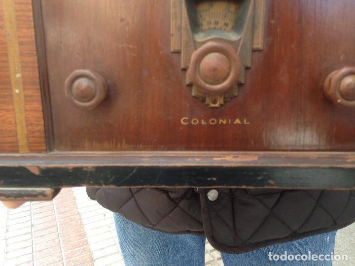 Radios de válvulas: Radio a Válvulas Colonial - años 30 - Foto 7 - 111408907