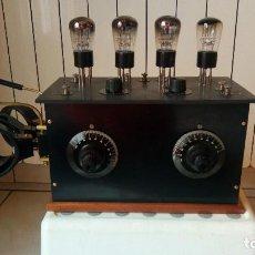 Radios de válvulas: RADIO 4 VALVULAS EXTERIORES, 3 SELFS, MUY BUEN ESTADO. Lote 112118663