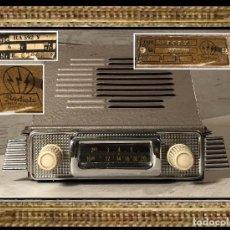 Radios de válvulas: RADIO DE VÁLVULAS PARA COCHE CLÁSICO -RADIOLA - TIPO RA 392 V (AÑO 1951)- ANTIGUA - . Lote 112119315
