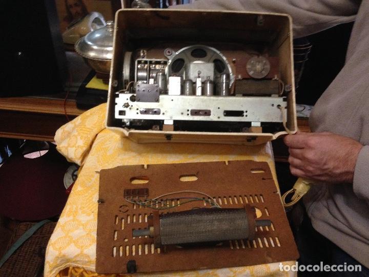 Radios de válvulas: Receptor de Radio Radiola - de los años 50 - Foto 11 - 112311251