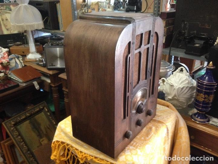 Radios de válvulas: Radio RCA a válvulas de la primera mitad de los años 30 - Foto 2 - 112317879