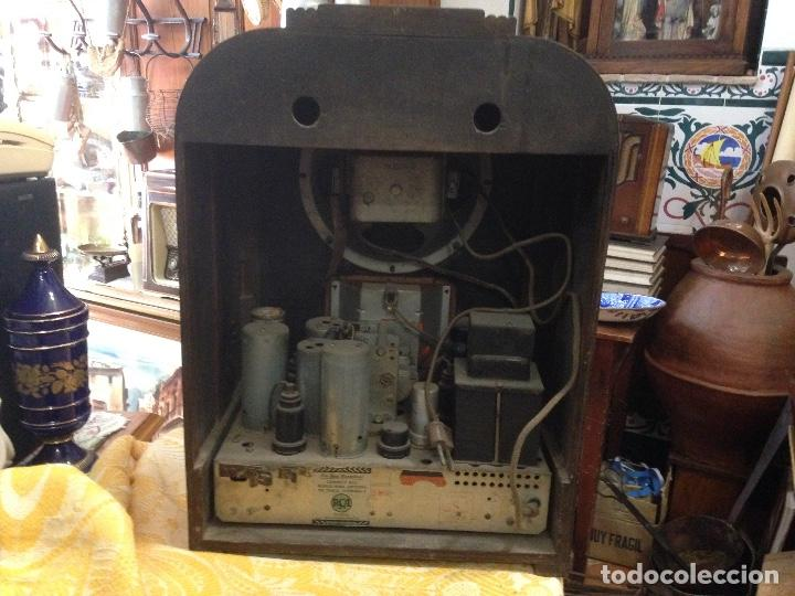 Radios de válvulas: Radio RCA a válvulas de la primera mitad de los años 30 - Foto 3 - 112317879
