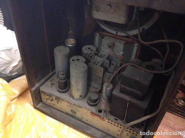 Radios de válvulas: Radio RCA a válvulas de la primera mitad de los años 30 - Foto 4 - 112317879