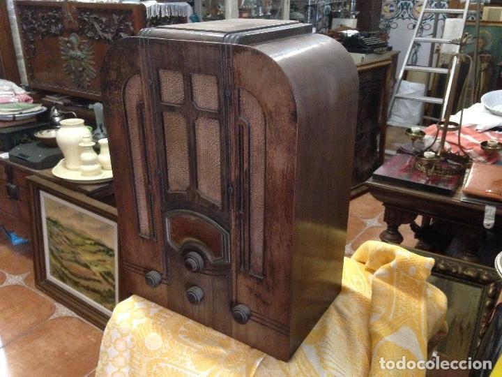 Radios de válvulas: Radio RCA a válvulas de la primera mitad de los años 30 - Foto 8 - 112317879