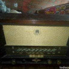Radios de válvulas: ANTIGUA RADIO DE LAMPARAS. Lote 112516048