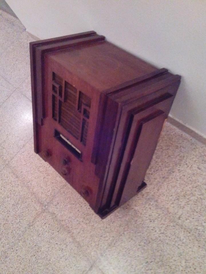 Radios de válvulas: Radio antigua art decó - Foto 2 - 99723799