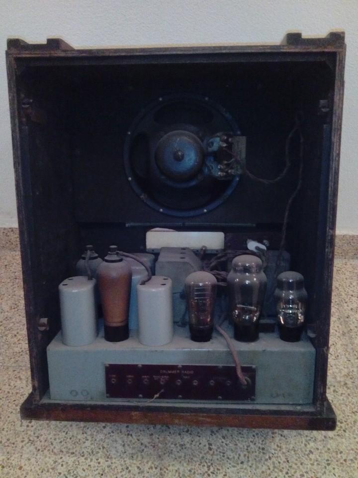 Radios de válvulas: Radio antigua art decó - Foto 4 - 99723799