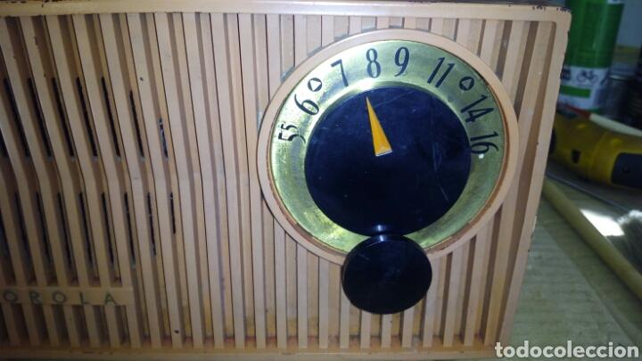 Radios de válvulas: Radio Motorola 53R, Américano,(Funcionando) - Foto 15 - 113167483