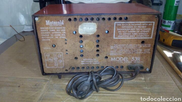 Radios de válvulas: Radio Motorola 53R, Américano,(Funcionando) - Foto 19 - 113167483
