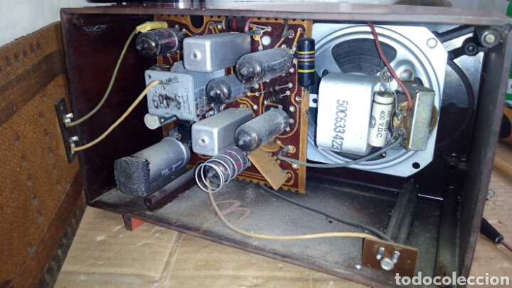 Radios de válvulas: Radio Motorola 53R, Américano,(Funcionando) - Foto 20 - 113167483