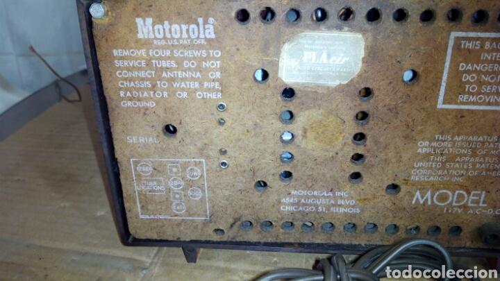 Radios de válvulas: Radio Motorola 53R, Américano,(Funcionando) - Foto 24 - 113167483