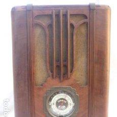 Radios de válvulas: RADIO GAROD MOD.104 - 1935 - BROOKLYN NEW YORK - 125V - FUNCIONANDO - OM, OL Y OC - TIPO TOMBSTONE. Lote 113296171