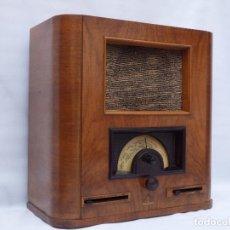 Radios de válvulas: ANTIGUA RADIO DE VÁLVULAS MARCA SIEMENS, MODELO 26 GLK, MUY BIEN CONSERVADA.. Lote 113388583