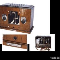 Radios de válvulas: RADIO DE VÁLBULAS CROSLEY USA AÑOS 30 ORIGINAL Y FUNCIONANDO. Lote 113623999