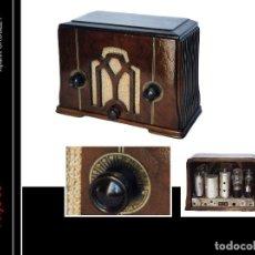 Radios de válvulas: RADIO DE VÁLBULAS CROSLEY . USA AÑOS 30 ORIGINAL Y FUNCIONANDO. Lote 113624043