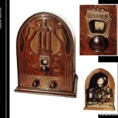 Radios de válvulas: RADIO DE VÁLBULAS DE CAPILLA MONDIAL ORIGINAL Y FUNCIONANDO. Lote 113624655