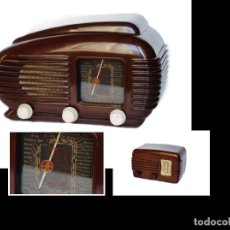 Radios de válvulas: RADIO DE VÁLBULAS TESLA + MINI RADIO ITALIANA SONORETA, ORIGINAL Y FUNCIONANDO. Lote 113625159