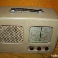 Radios de válvulas: APARATO DE RADIO PORTATIC DE VALBULAS DE BATERIAS NORMAN AÑOS 40 -50 . Lote 113715027