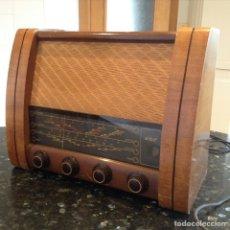 Radios de válvulas: RADIO GEC GENERAL ELECTRIC . FUNCIONANDO A 220V EN MADERA MIDE EN CMS (43X20X32. Lote 114179298