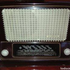 Radios de válvulas: RADIO TELEFUNKEN CON VOLTIMETRO. Lote 114465786